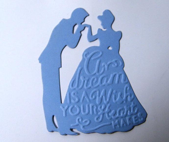 Prince and Princess Cutting Die