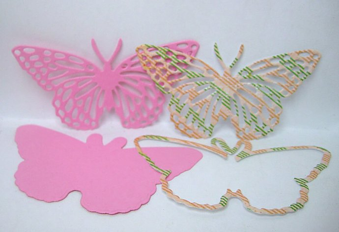 2pc Butterfly Metal Cutting Die Set