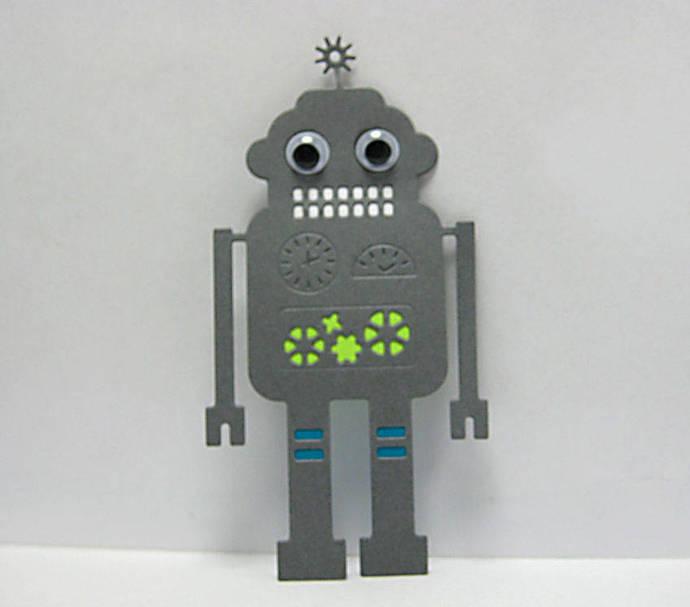 Spaceman Robot Metal Cutting Die