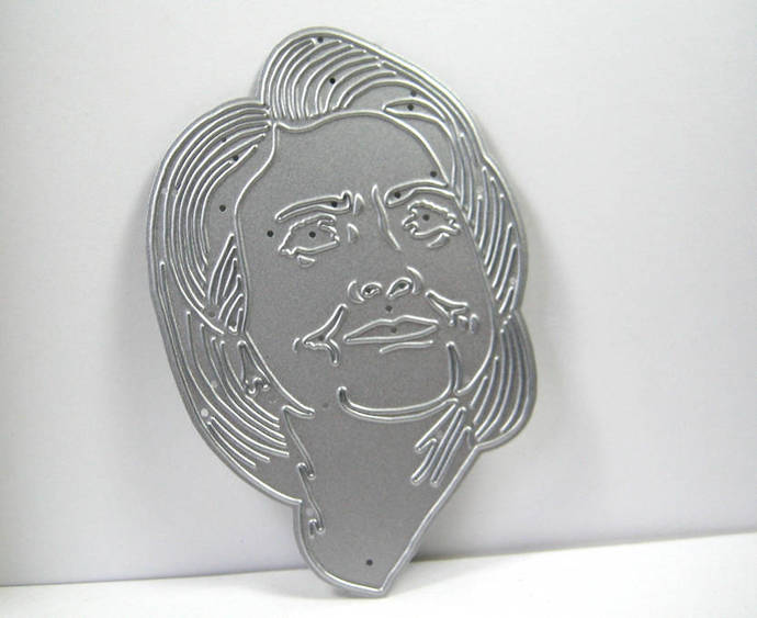 Hillary Clinton Metal Cutting Die