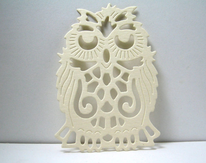 Old Mr. Owl Metal Cutting Die for Card Making