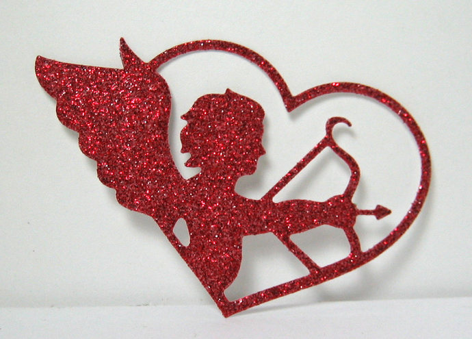 Cupid Metal Cutting Die, Valentines & Love Card Making Dies