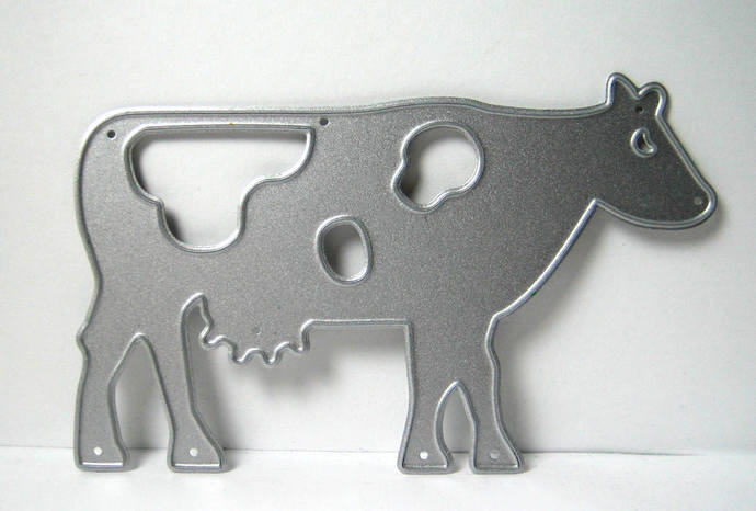 Large Cow Farm Animal Metal Cutting Die