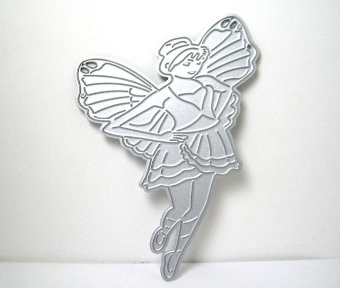 Fairy with Butterfly Wings Metal Cutting Die