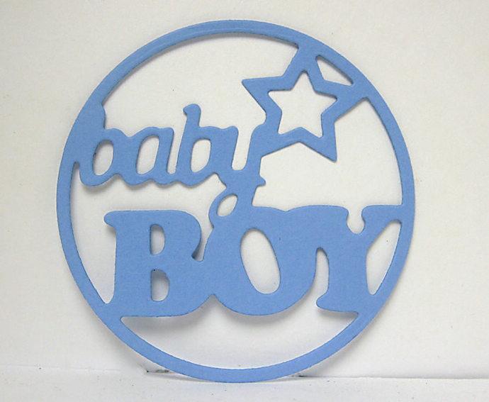 Baby Boy Metal Cutting Die