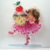 Ballerina Girl with Cupcake Clear Stamp