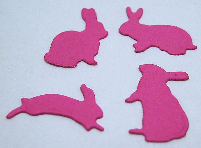 Teeny Tiny Bunny Rabbit Metal Cutting Die Set