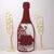 3pc Set Bottle and Glasses Cutting Die, Wine, Champagne. Glass