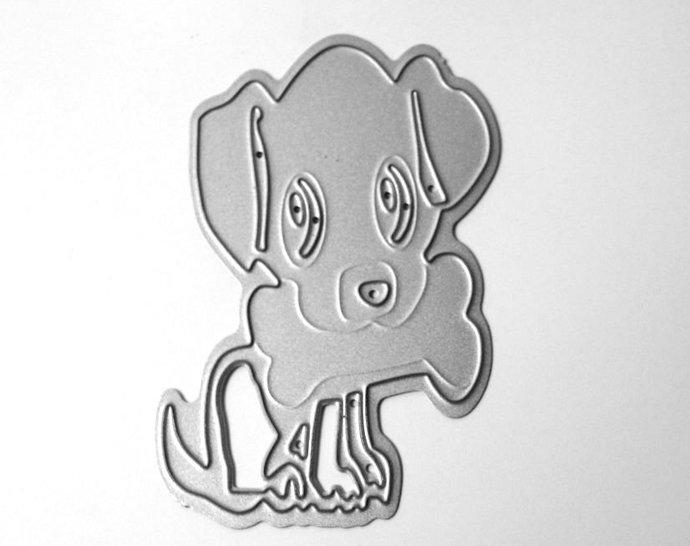 Puppy Dog Metal Cutting Die
