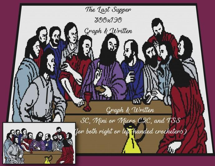 The Last Supper Crochet Design
