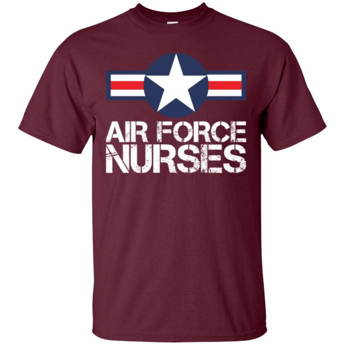 Airforce Nurses Men T-shirt