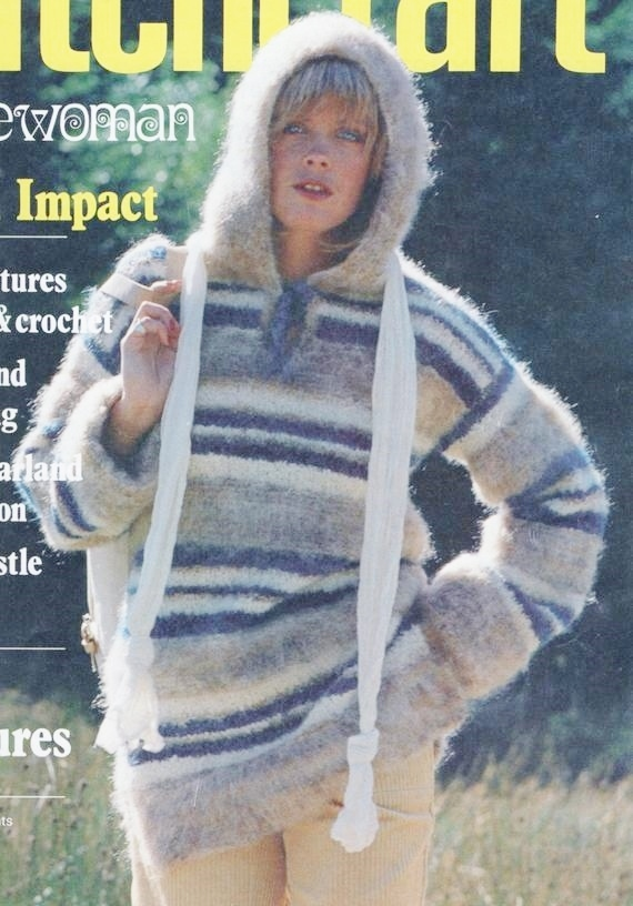 ALMOST FREE Instant PDF Digital Download Vintage Row by Row Knitting Pattern