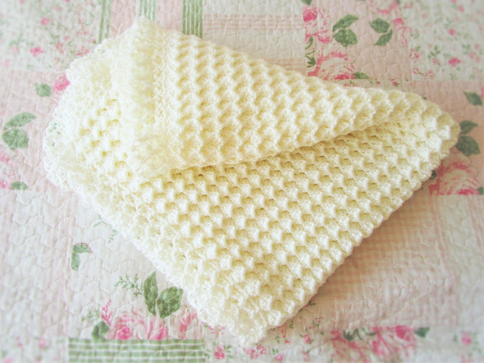 Ready to ship, Crochet Baby Blanket,28x32,Crochet Baby Afghan,Baby Shower