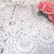 """1yd Embroidered Venice Lace - 3"""" White"""