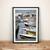 Nautical Bathroom Print, Lake House Decor, Sailboat Wall Print, Marine Wall