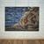 Nautical Bathroom Print, Lake House Decor, Coastal Print, Marine Wall Print,
