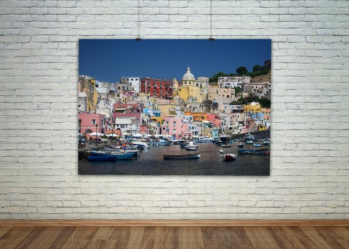 Coastal Wall Art, Coastal Print, Nautical Poster, Italy Wall Print, Shore Art