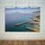 Coastal Print, Aqua Ocean Print, Nautical Poster, Large Beach Wall Art, Shore