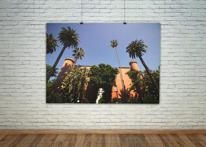 Tropical Wall Art, Palm Leaf Print, Banana Leaves, Bohemian Wall Print, Banana