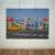 Mens Wall Print, Coastal Wall Art, Lake House Decor, Vintage Italy Poster, Retro