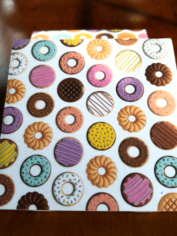 Donuts Tile Coasters