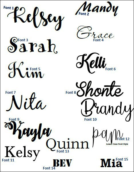 "10"" Glitter Name Iron-On Decals  / Name Iron On Transfer/ Iron On Letters / Heat"