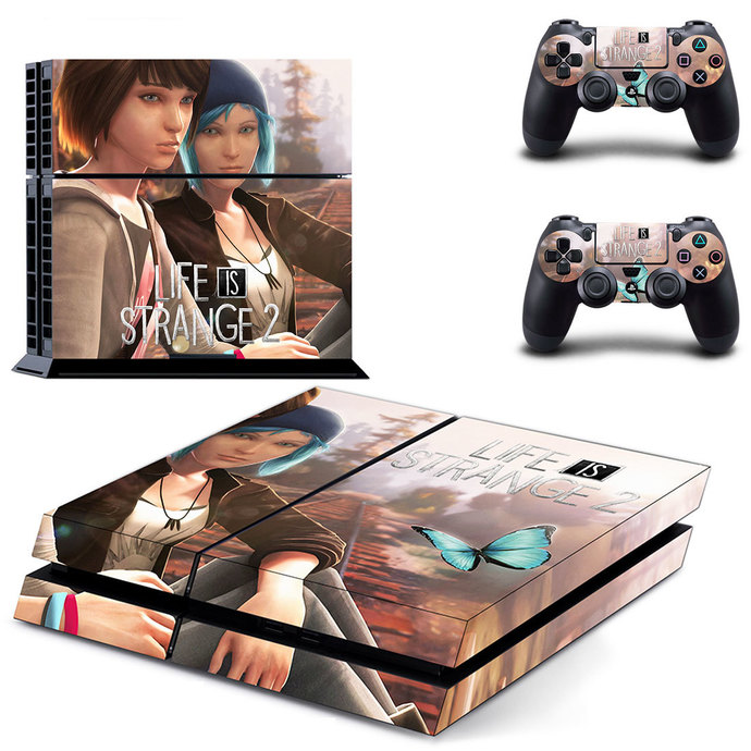 Life is Strange 2  PS4 Skin for PlayStation 4 Console & Controllers