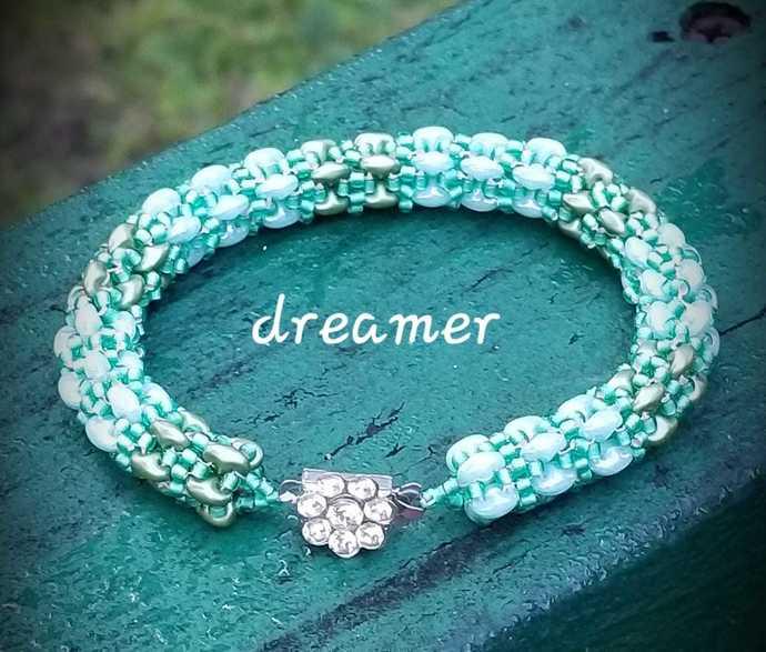Calming Seas Beaded Bracelet
