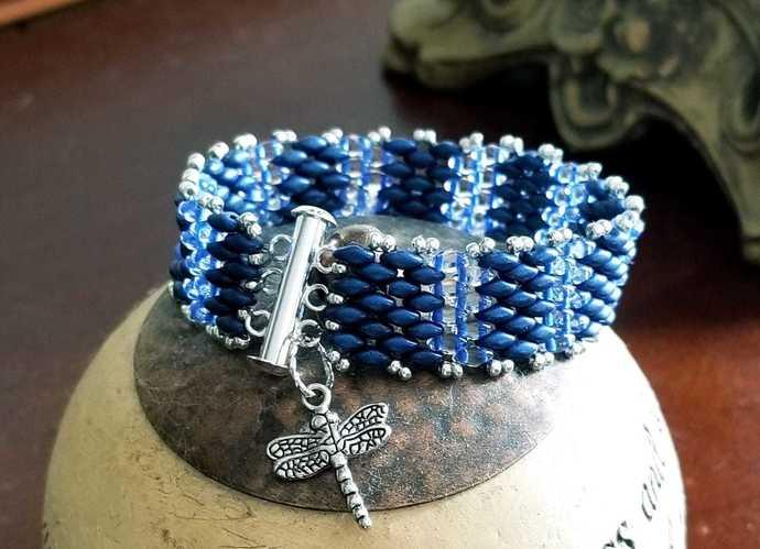 Dragonfly Dreams Cuff Bracelet