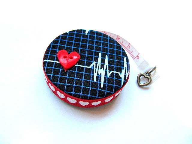 Tape Measure for Doctors and Nurses EKG Retractable Measuring Tape