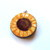 Retractable Tape Measure Flannel Sun Flowers Small Measuring Tape