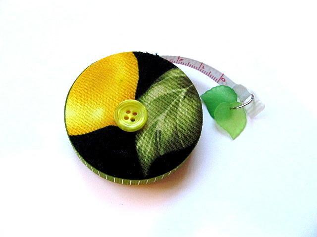 Retractable Tape Measure Lemons Small Measuring Tape