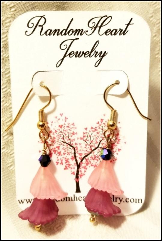 Flirty Floral Dangle Earrings