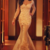 Chic Tulle & Stretch Satin Queen Anne Neckline Mermaid Evening Dresses With Lace