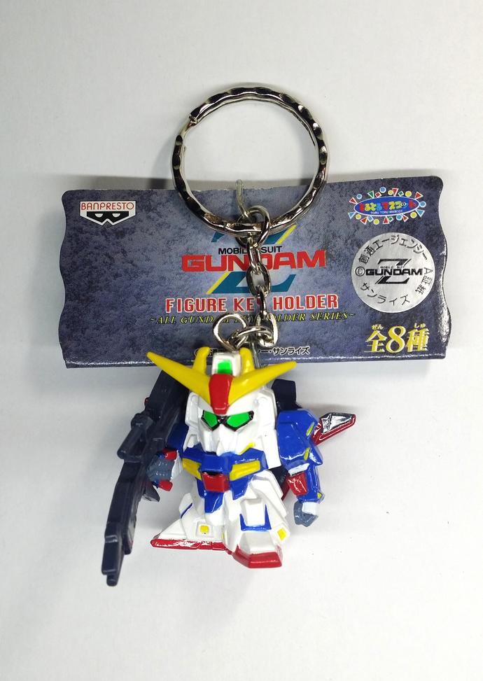 Mobile Suit Z Gundam ZETA Figure Keychain / Keyholder / Charms - Japanese Anime