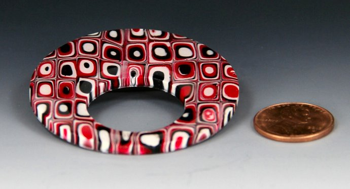 Eyewear Carry Pendant / Brooch - hand made and one of a kind jewelry art, by