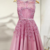 Elegent Tulle Bateau Neckline A-line Homecoming Dresses With Lace Appliques
