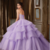 Delicate Organza & Tulle Sweetheart Neckline Ball Gown Quinceanera Dresses With