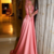 Gorgeous Tulle & Satin Jewel Neckline A-Line Evening Dresses With Lace Appliques