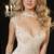 Glamorous Tulle & Chiffon High Collar Neckline Mermaid Evening Dresses With