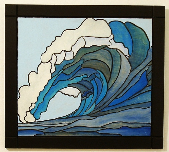 Nautical Home Decor Ocean Wave By Galleryatkingston On Zibbet