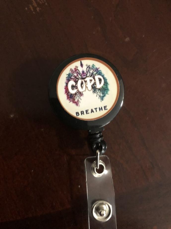 COPD badge reel