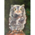 Baby Owl Oil Panting , 5x7 inches, Perfect for the Bird Watcher, Bird Lover, Owl