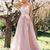 Cheap Pink Vintage Prom Dresses Plus Size Lace Applique Modest Prom Dresses