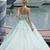 Mint Green Ball Gown Court Train Sleeveless Appliques Beading Long Prom