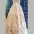 Pink Ball Gown Floor Length V Neck Capped Sleeve Floral Long Prom Dress,Party