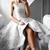 Gray A Line Asymmetrical Halter Sleeveless Lace Cheap Prom Dress,Formal Dress