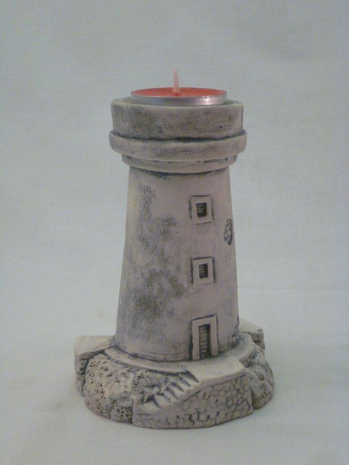 Lighthouse - candle holder