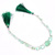 AMAZING !! Natural Emerald Faceted Heart Shaped Precious Loose Gemstone Bead