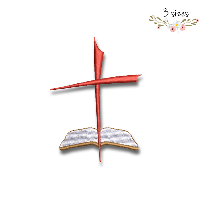 Machine Embroidery Design Christian cross designs machine digital instant